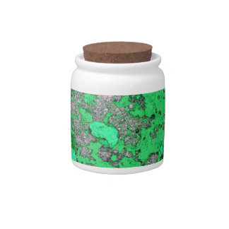 Abstract Antique Junk Style Fashion Art Solid Shin Candy Jars