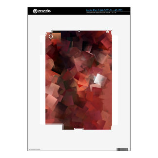 Abstract Antique Junk Style Fashion Art Solid Shin iPad 3 Skin