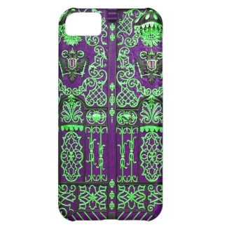 Abstract Antique Junk Style Fashion Art Solid Shin iPhone 5C Cases