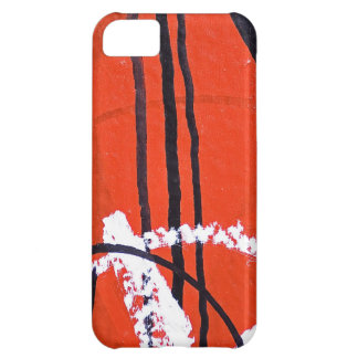 Abstract Antique Junk Style Fashion Art Solid Shin iPhone 5C Cover