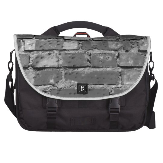 Abstract Antique Junk Style Fashion Art Solid Shin Laptop Computer Bag