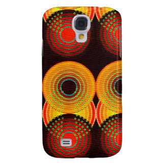 Abstract Antique Junk Style Fashion Art Solid Shin Samsung S4 Case
