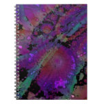 Abstract Apples No1 Spiral Notebook