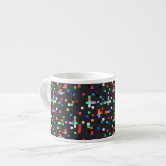 Abstract Applique Espresso Cup