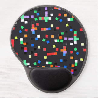 Abstract Applique Gel Mouse Pad