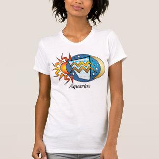 Abstract Aquarius Shirt