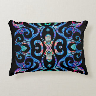 Abstract Arachnid Accent Pillow