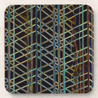 Abstract Architecture Beverage Coaster