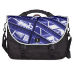 Abstract architecture design laptop computer bag