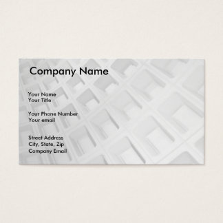Abstract Architecture in Black and White Business Card