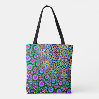 Abstract Array of Colors Tote Bag