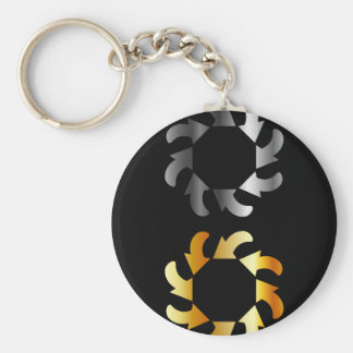 Abstract arrows design element keychain