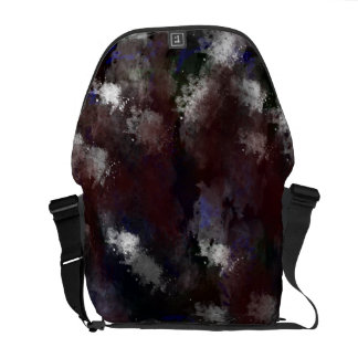 Abstract art 02 original digital painting courier bag