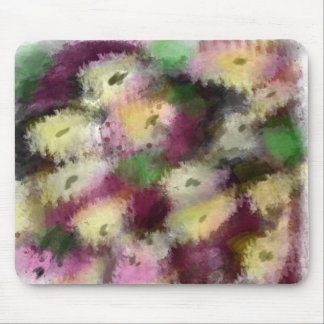 Abstract art 03 original digital painting flowers mouse pad