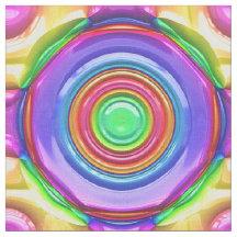 Abstract Art 119 Custom Fabric
