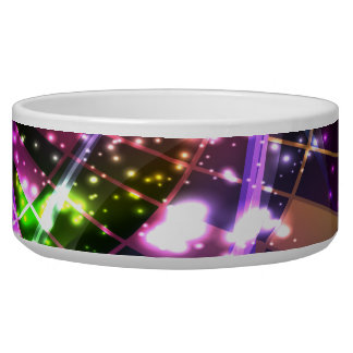 Abstract Art 11 Pet Bowl