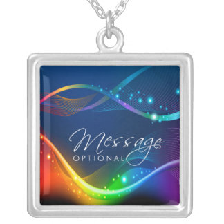 Abstract Art 12B Necklace