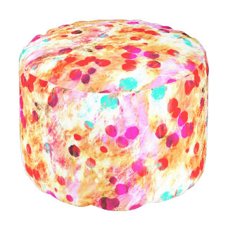 Abstract Art 148 Pouf