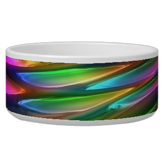Abstract Art 14 Pet Bowl