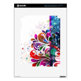 Abstract Art 16 i Pad Skin iPad 3 Skin