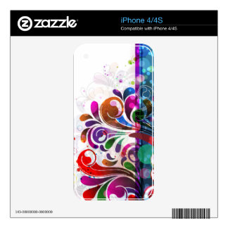 Abstract Art 16 Phone Skin Skins For The iPhone 4