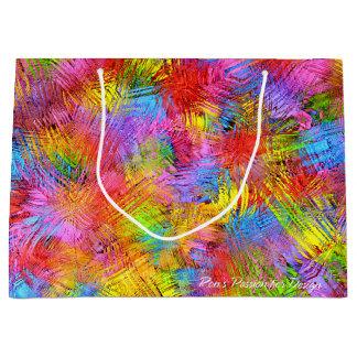 Abstract Art 171 Large Gift Bag