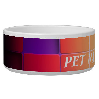 Abstract Art 17 Pet Bowl