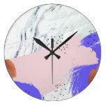 Abstract Art 1 circle wall clock
