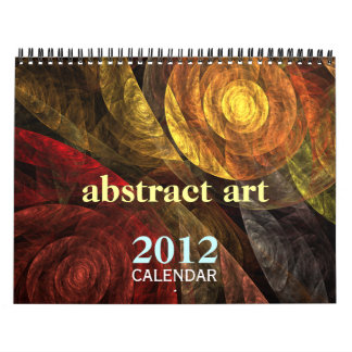 Abstract Art 2012 Fine Art Calendar (Medium)