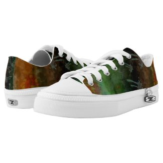 Abstract Art 2014-09-16 (design for low top shoes) Printed Shoes