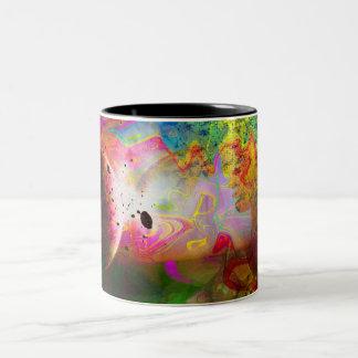 Abstract Art 2014-12-09 Two-Tone Coffee Mug