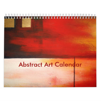 Abstract Art 2017 Calendar