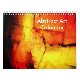 Abstract Art 2017 Calendar Modern Artwork Creation