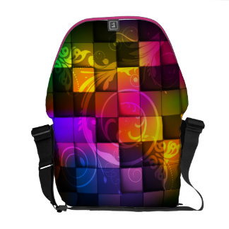 Abstract Art 20 Messenger Bag