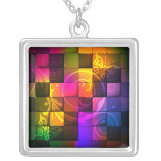 Abstract Art 20 Necklace