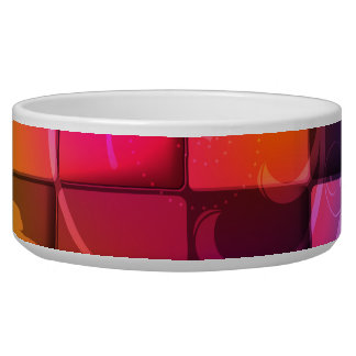 Abstract Art 20 Pet Bowl