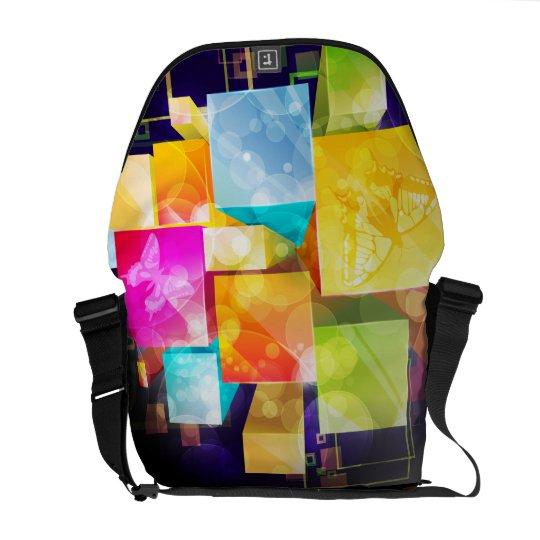 Abstract Art 21 Messenger Bag