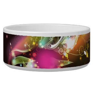 Abstract Art 22 Pet Bowl