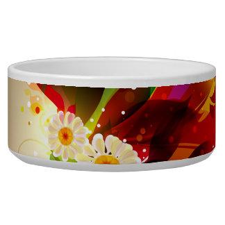 Abstract Art 25 Pet Bowl
