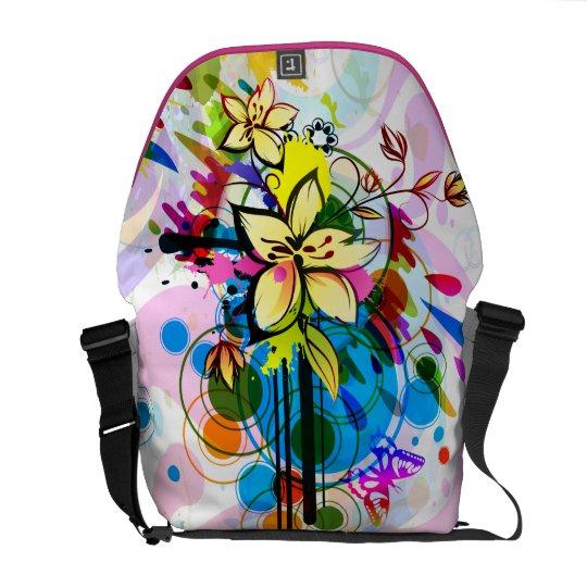 Abstract Art 26 Messenger Bag