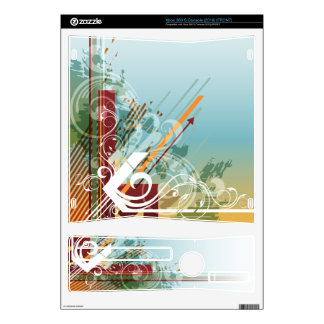 Abstract Art 28 Gaming Skin Skin For Xbox 360 S
