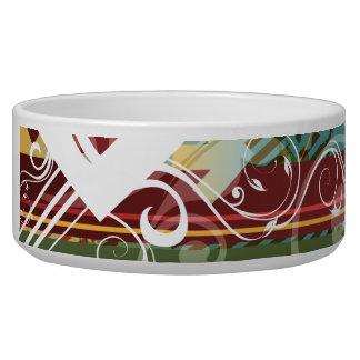 Abstract Art 28 Pet Bowl