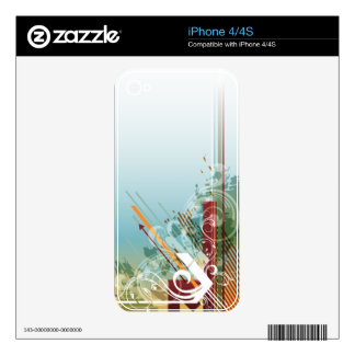 Abstract Art 28 Phone Skin iPhone 4S Decal