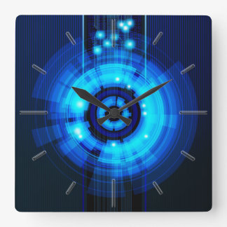 Abstract Art 29A Clock