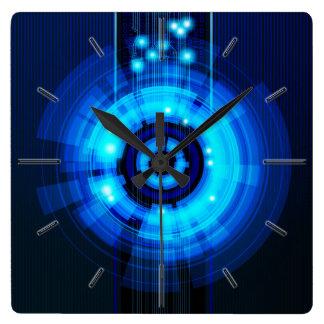 Abstract Art 29A Clock