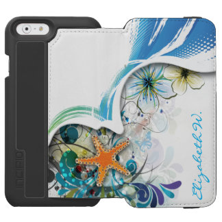 Abstract Art 30 iPhone 6/6s Wallet Case
