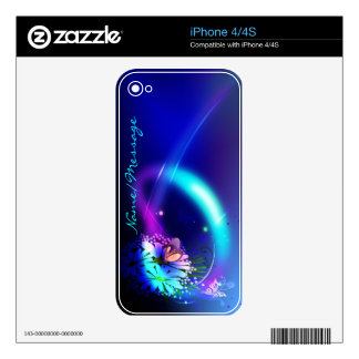 Abstract Art 38 Phone Skin Decal For The iPhone 4S