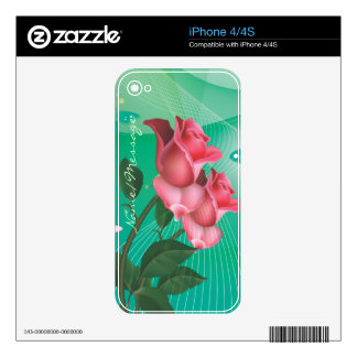 Abstract Art 39 Phone Skin Decals For iPhone 4S