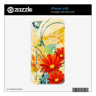 Abstract Art 40 Phone Skin Skins For iPhone 4