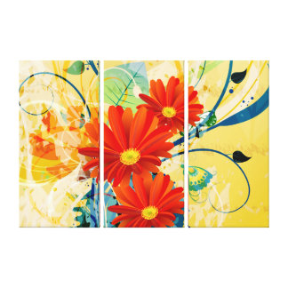 Abstract Art 40 Wrapped Canvas